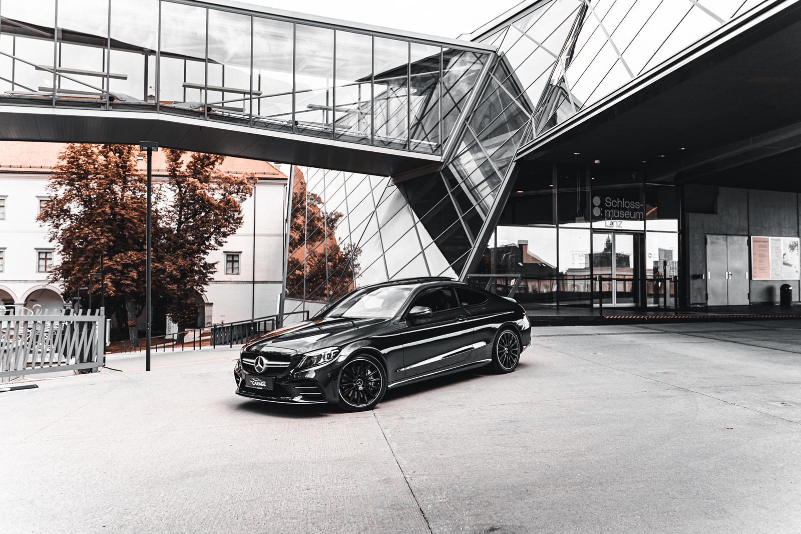 Mercedes C53 AMG Coupe Matt